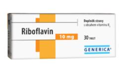 Riboflavin Generica tbl.30