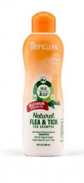 Tropiclean Šampon pro psy proti blechám, klíšťatům a komárům pro běžné koupele