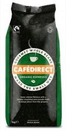 Cafédirect BIO Espresso zrnková 1kg