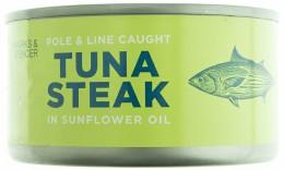 Marks & Spencer Tuňákový steak ve slunečnicovém oleji