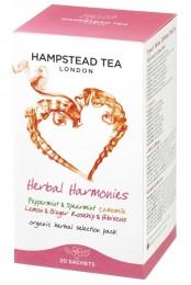 Hampstead Tea London BIO selekce bylinných a ovocných čajů