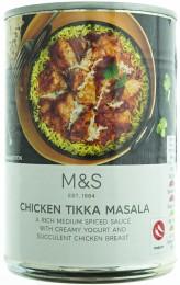 Marks & Spencer Kousky tepelně upravených kuřecích prsou v aromatické omáčce