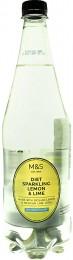 Marks & Spencer Nealkoholický perlivý nápoj s příchutí mexických limetek a sicilských citrónů se sladidlem