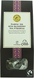 Marks & Spencer Porcovaný fialový čaj aromatizovaný s kousky borůvek