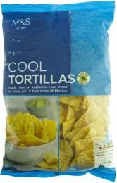Marks & Spencer Kukuřičné tortillové lupínky