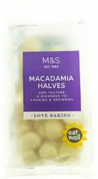 Marks & Spencer Půlená jádra makadamových ořechů