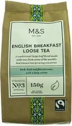 Marks & Spencer Sypaný anglický snídaňový čaj