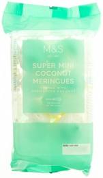 Marks & Spencer Mini kokosové pusinky posypané sušeným strouhaným kokosem