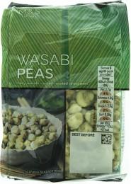 Marks & Spencer Pražený zelený hrášek obalený v pálivé kořenící směsi s příchutí křenu wasabi