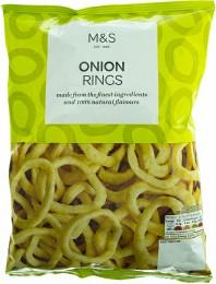Marks & Spencer Bramborový snack s příchutí smažené cibulky