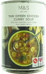 Marks & Spencer Thajská kuřecí polévka
