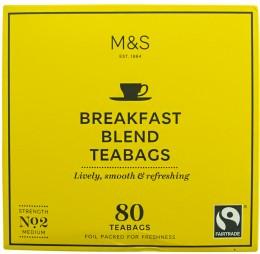 Marks & Spencer Porcovaná čajová snídaňová směs