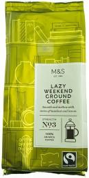 Marks & Spencer Středně pražená mletá káva Lazy Weekend (100% Arabica)