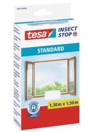 Tesa Síť proti hmyzu do oken, bílá, 1,3 m x 1,5 m