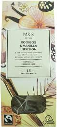 Marks & Spencer Porcovaný čaj rooibos s vanilkou a kousky kakaa