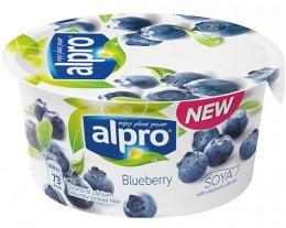 Alpro Fresh sojová alternativa jogurtu borůvka