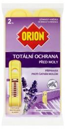 Orion Totální ochrana před moly vůně levandule 2ks