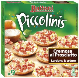 Buitoni Piccolinis Cremosa pizza 9ks,