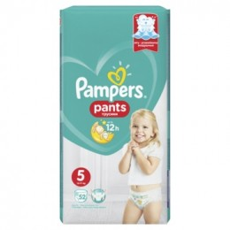 Pampers Pants Active Baby (velikost 5) 52ks