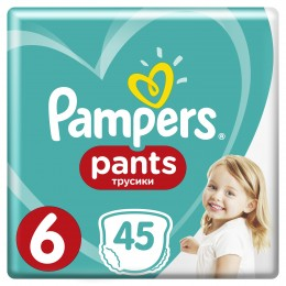Pampers Pants (velikost 6) 45 ks