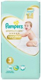 Pampers Pants Premium Value Pack (velikost 3) 48 ks