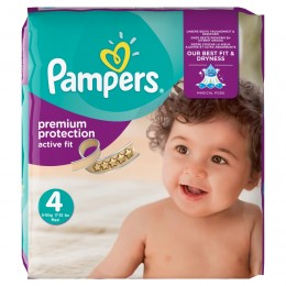 Pampers Active Fit (velikost 4)168ks