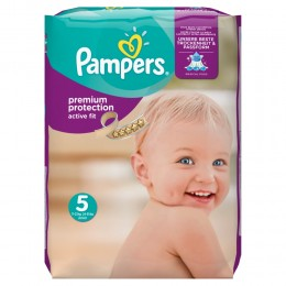 Pampers Active Fit (velikost 5) 136ks