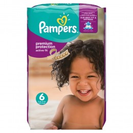 Pampers Active Fit (velikost 6) 120ks