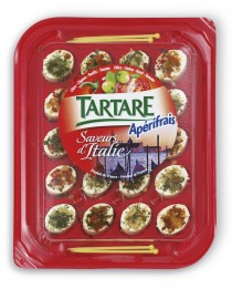 Tartare Apérifrais Itálie