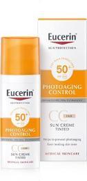 EUCERIN SUN CC krém na opal SPF50+světlý 50ml_2018