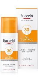 EUCERIN SUN Gel na obl Oil Control SPF30 50ml_2018