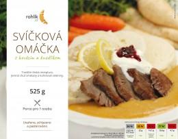 Rohlik.cz Svíčková omáčka s hovězím a knedlíkem