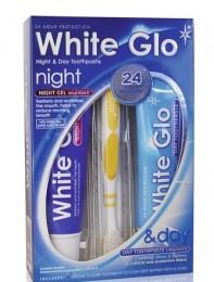 White Glo Night - noční a denní bělící zubní pasta