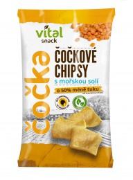 Vital Snack Čočkové chipsy s mořskou solí