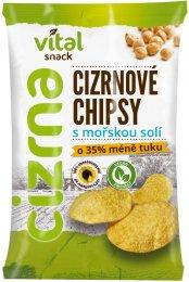 Vital Snack Cizrnové chipsy s mořskou solí