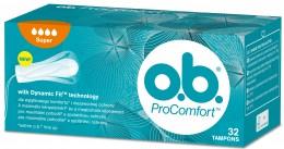 o.b. ProComfort Super tampony 32ks