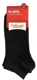Bellinda dámské nízké ponožky IN-SHOE SOCKS, černé, vel. 35-38