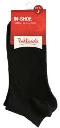 Bellinda dámské nízké ponožky IN-SHOE SOCKS, černé, vel. 39-42