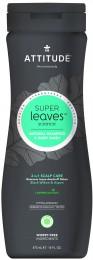 Attitude Super leaves přírodní pánský šampón & tělové mýdlo (2v1) s detoxikačním účinkem - proti lupům