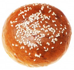 Merhautovo pekařství Hamburgerová bulka mléčná se sezamem