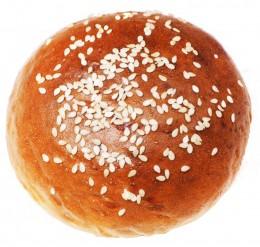 Merhautovo pekařství Hamburgerová bulka mléčná se sezamem - malá