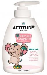 Attitude Dětské tělové mléko bez vůně