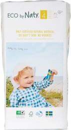 Naty Nature Babycare Dětské ECO plenky Maxi 7-18 kg (velikost 4) 44 ks