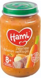 Hami příkrm Zelenina s dušeným vepřovým