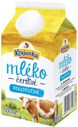 Krajanka Čerstvé mléko polotučné 1,5%