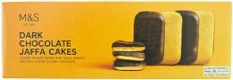 Marks & Spencer Piškoty s pomerančovou náplní polomáčené v hořké čokoládě
