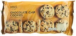 Marks & Spencer Pšeničné sušenky s kousky hořké čokolády