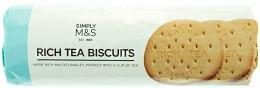 Marks & Spencer Pšeničné čajové sušenky