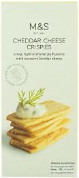 Marks & Spencer Lehké krekry z listového těsta se zralým sýrem čedar