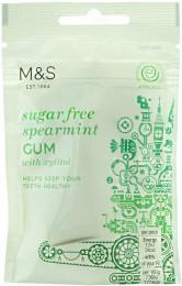 Marks & Spencer Žvýkačka bez cukru s příchutí spearmint se sladidly